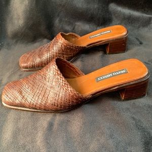 Sesto Meucci Shoes - Sesto Meucci Mule Woven Shoes